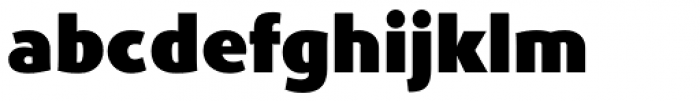 Phoenica Std UltraBlack Font LOWERCASE