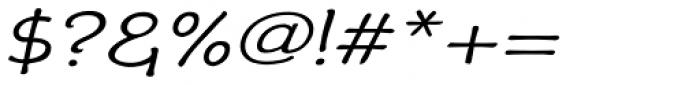 Phollick Expand Oblique Font OTHER CHARS