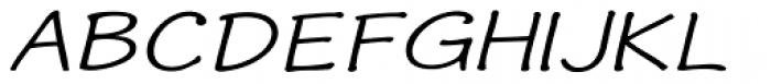 Phollick Expand Oblique Font UPPERCASE
