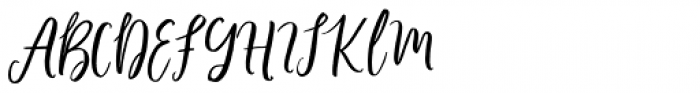Phoony Script Regular Font UPPERCASE