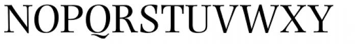 Photina MT Pro Roman Font UPPERCASE