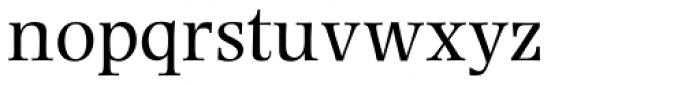 Photina MT Pro Roman Font LOWERCASE