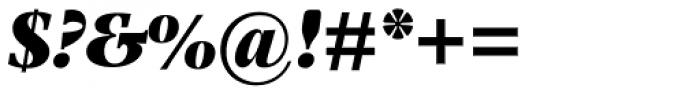 Photina MT Pro UltraBold Italic Font OTHER CHARS