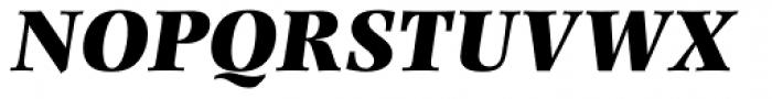 Photina MT Pro UltraBold Italic Font UPPERCASE