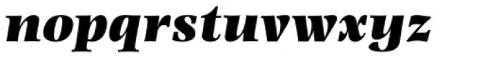 Photina MT Pro UltraBold Italic Font LOWERCASE