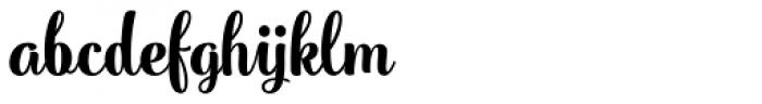 PhotoWall Heavy Font LOWERCASE