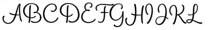 PhotoWall Regular Font UPPERCASE