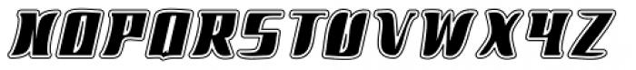 Phucy Negative Font UPPERCASE