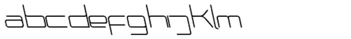 Phuture Rnd Clsd A Italic Font LOWERCASE