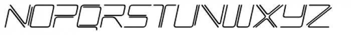 Phuture Rnd Open Italic Font UPPERCASE