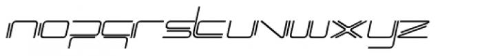 Phuture Rnd Open Italic Font LOWERCASE