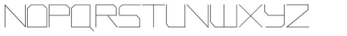 Phuture Sqrd Clsd Fine Font UPPERCASE