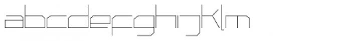Phuture Sqrd Clsd Fine Font LOWERCASE