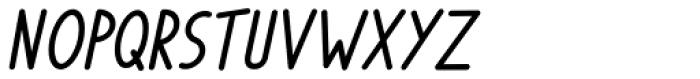 Phylactere Bold Italic Font UPPERCASE