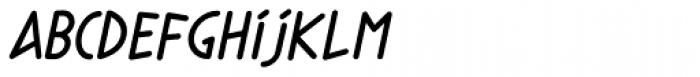Phylactere Bold Italic Font LOWERCASE