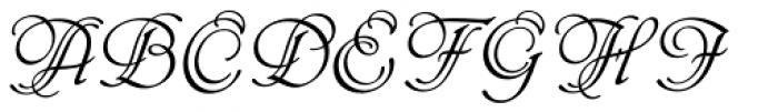 Phyllis EF Initials Font UPPERCASE