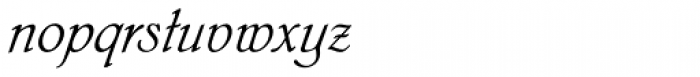 Phyllis EF Initials Font LOWERCASE