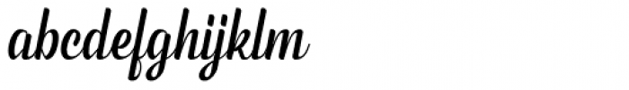 Phyton Script Font LOWERCASE