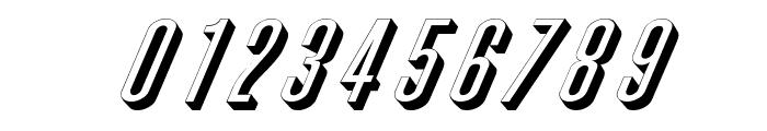 Phoenix Wide D Italic Font OTHER CHARS