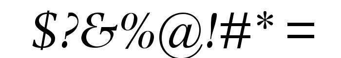 PhotinaMTStd-Italic Font OTHER CHARS