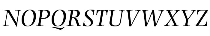 PhotinaMTStd-Italic Font UPPERCASE