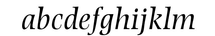 PhotinaMTStd-Italic Font LOWERCASE