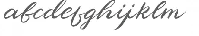 Phaeton Font LOWERCASE