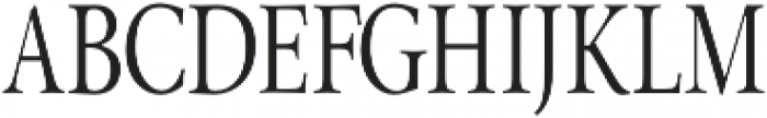 Pial Serif Condensed otf (400) Font UPPERCASE