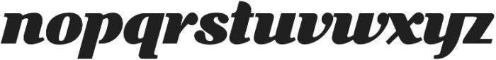 Picastro BoldDrop otf (700) Font LOWERCASE