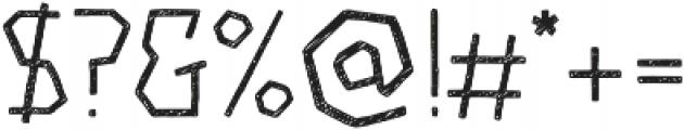 Piccata Regular Sketched otf (400) Font OTHER CHARS