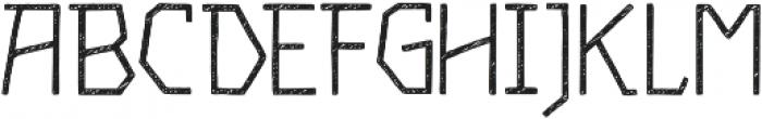 Piccata Regular Sketched otf (400) Font UPPERCASE