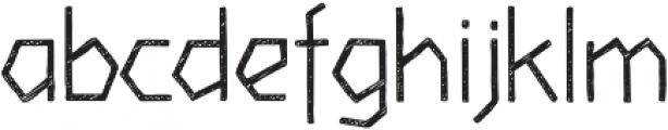 Piccata Regular Sketched otf (400) Font LOWERCASE