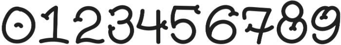 Pickles Handmade otf (400) Font OTHER CHARS