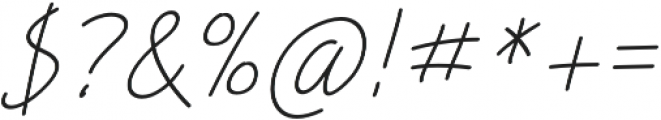 Picklet Italic otf (400) Font OTHER CHARS