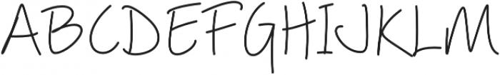 Picklet Regular otf (400) Font UPPERCASE