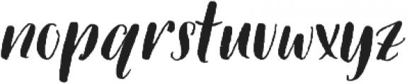 Picky Girl - Kestrel Montes otf (400) Font LOWERCASE