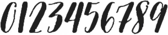 Picky Girl Too - Kestrel Montes otf (400) Font OTHER CHARS