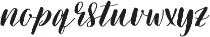 Picky Girl Too - Kestrel Montes otf (400) Font LOWERCASE