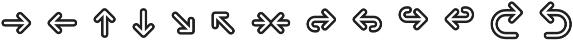 Pictypo Three otf (400) Font LOWERCASE