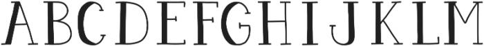 Pigeon Scout Serif otf (400) Font LOWERCASE
