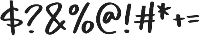 Piggy Bank otf (400) Font OTHER CHARS