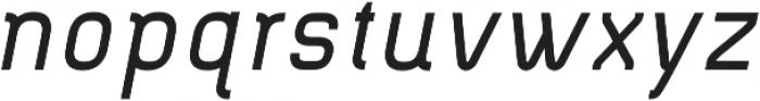 Piko Bold Oblique otf (700) Font LOWERCASE