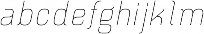 Piko Light Oblique otf (300) Font LOWERCASE