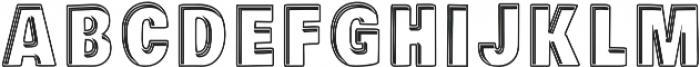 Piligrimistic otf (400) Font UPPERCASE