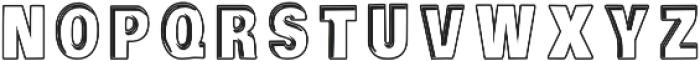 Piligrimistic otf (400) Font LOWERCASE