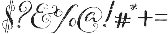 Pillowbook otf (400) Font OTHER CHARS