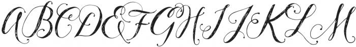 Pillowbook otf (400) Font UPPERCASE