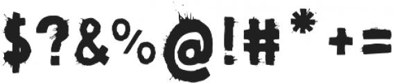 Pimba Regular otf (400) Font OTHER CHARS