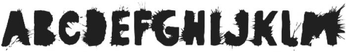 Pimba Regular otf (400) Font UPPERCASE