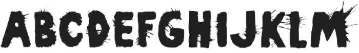 Pimba Regular otf (400) Font LOWERCASE